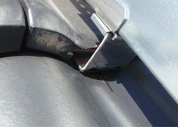 差し込み瓦工法