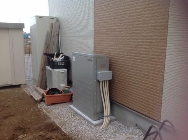 千葉県船橋市 K様邸 蓄電池設置工事